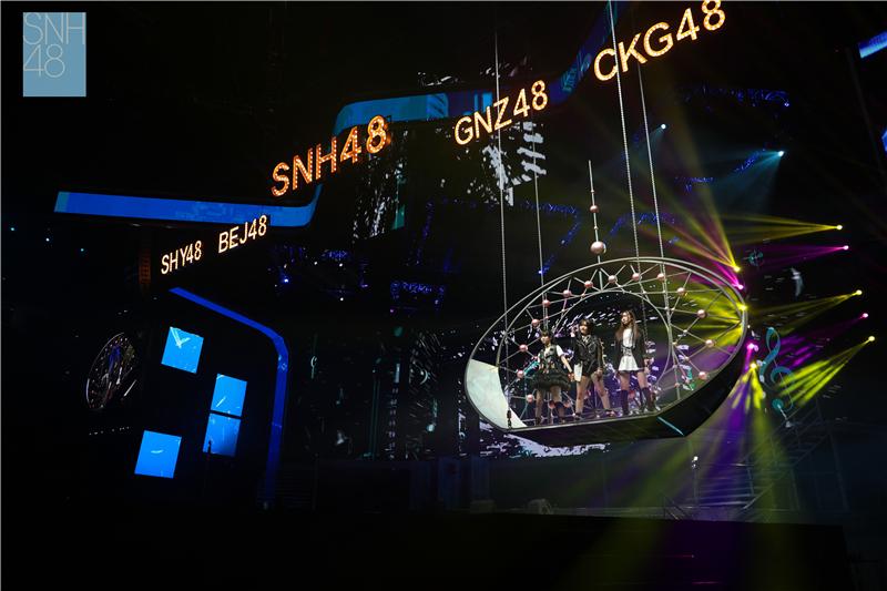 SNH48 GROUP 第四届年度金曲大赏收官  《春夏秋冬》一举夺冠