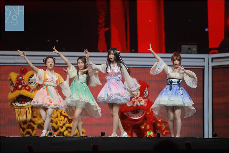 SNH48 GROUP 第四届年度金曲大赏回顾:UNIT曲目大放异彩