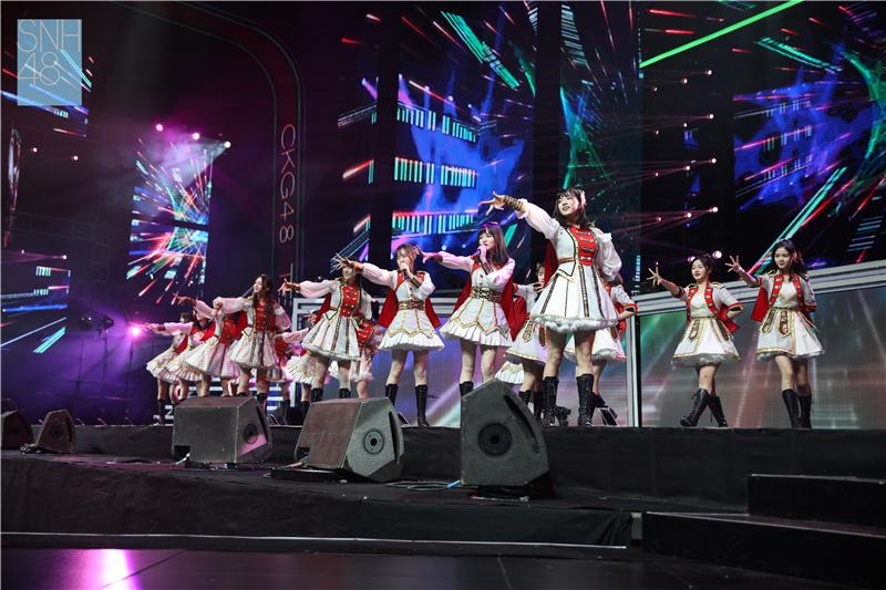 SNH48 FAMILY GROUP演唱会回顾:CKG48首登梅奔大舞台