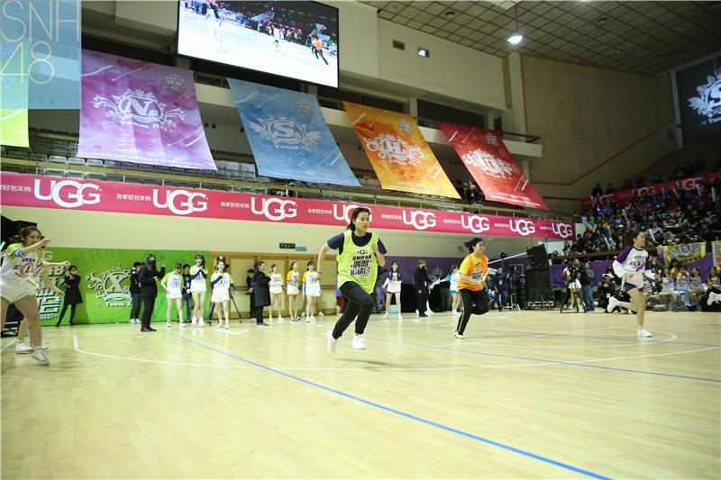首届SNH48偶像运动会回顾:粉丝互动花式应援