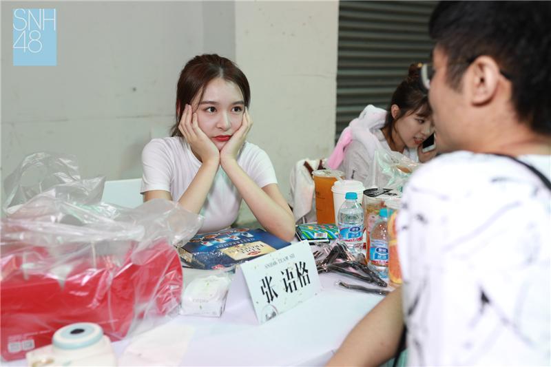 6月9日SNH48《未来的乐章》答谢握手会落幕 粉丝齐聚互诉心声