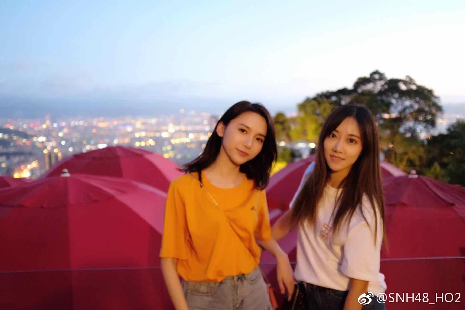 SNH48小组合HO2、BLUEV 即将迎出道首秀